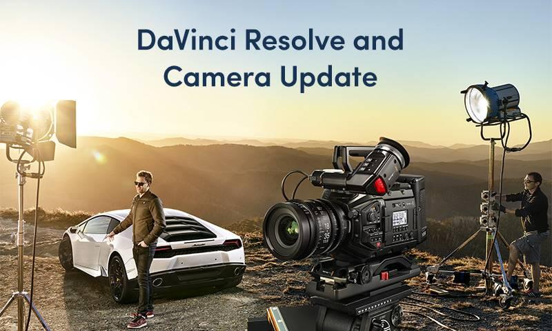 blackmagic davinci resolve and camera update