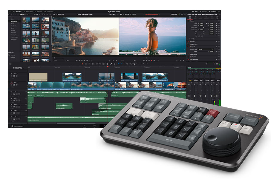 Speed Editor Promotion With Resolve Studio From Blackmagic Designaltered Images